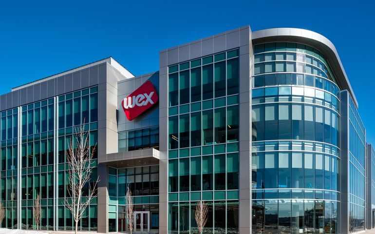 WEX headquarters building in Portland